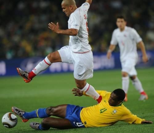 Бразилия громит Чили