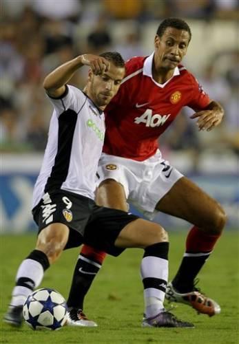 Валенсия-Манчестер Юнайтед 0-1